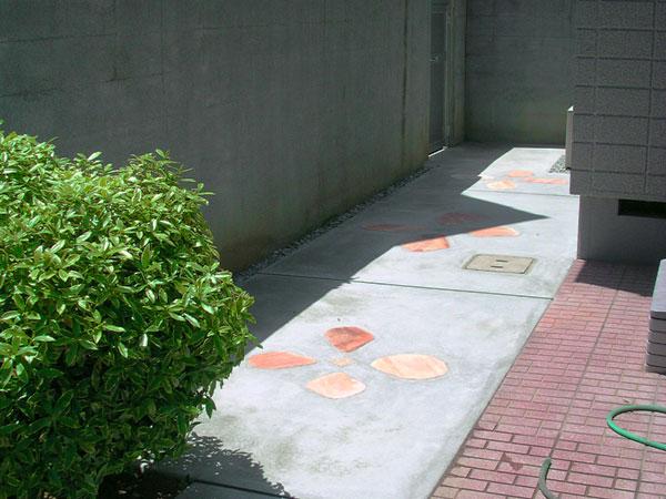 可愛いアクセントがあるお庭 – 大阪府大阪市 I様邸