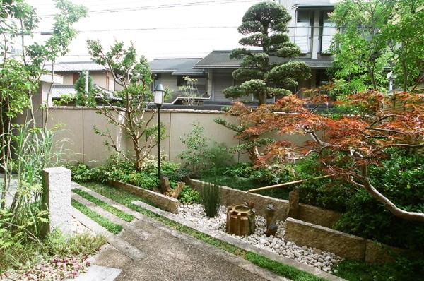 落ち着きのある現代和風庭園 – 大阪府大阪市 K様邸