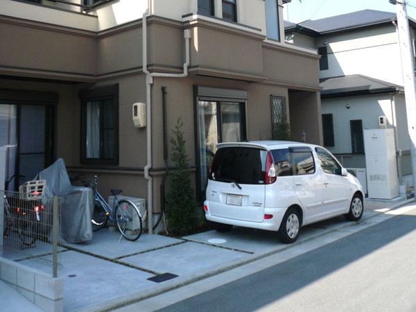 大切なバイクの保管場所を確保! – 大阪府堺市 M様邸の施工前