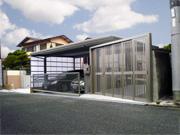 ガレージとアプローチの外構リフォーム – 大阪府堺市 T様邸の詳細はこちら