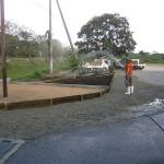 施工後:板塀を使ってスッキリしました