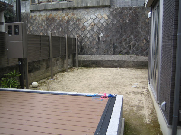 開放感あふれるガーデンルーム – 大阪府吹田市 Y様邸の施工前