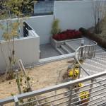 施工前:門柱と階段の取り方が変わりました