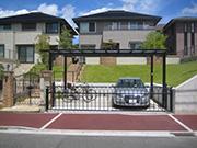雨よけ駐車場スペース – 大阪府高槻市 Y様邸の詳細はこちら