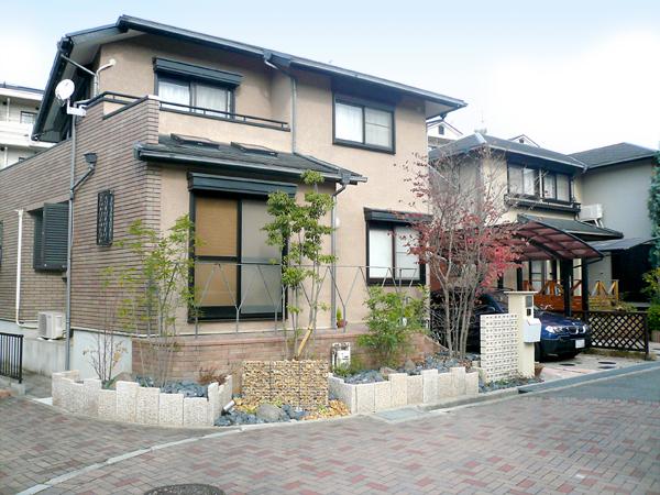 石材が主張する外構リフォーム – 大阪府富田林市 T様邸