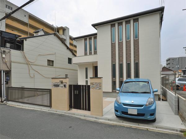 建物と調和した新築外構 – 大阪府豊中市 T様邸