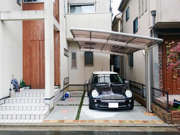 アイストップを利用したお気に入りの庭 – 大阪府高槻市K様邸