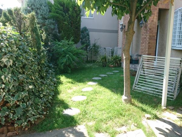 広いタイルテラスがあるお庭  ― 大阪府大阪市K様邸の施工前