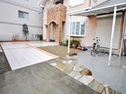 広いタイルテラスがあるお庭  ― 大阪府大阪市K様邸の詳細はこちら