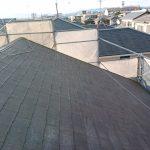施工前:屋根
