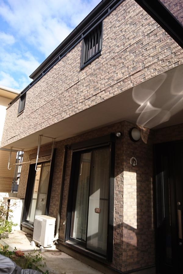 外壁塗装工事 屋根カバー工法 - 大阪府豊中市A様邸の施工前