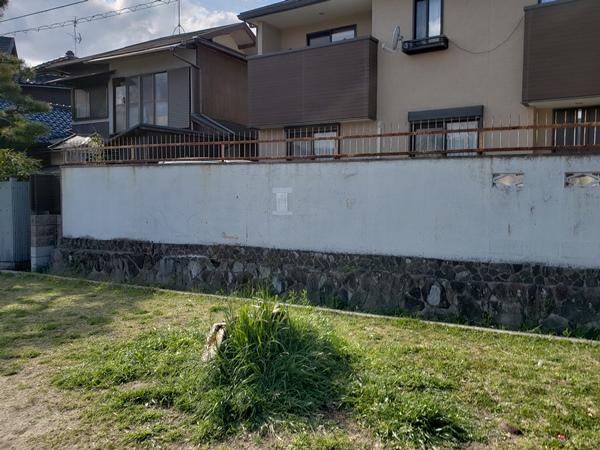 安全なブロック塀で安心 ― 大阪府川豊中市Y様邸の施工前