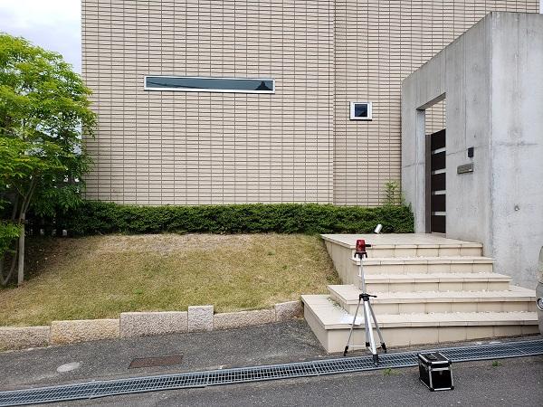 日々の機能性を考えた擁壁リフォーム~大阪府豊中市K様邸の施工前