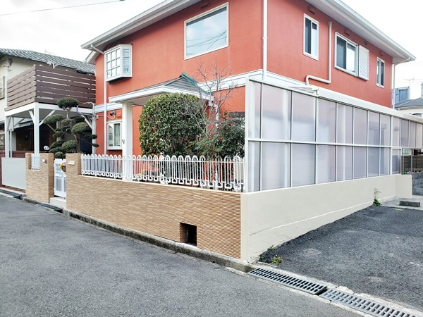 おしゃれな門まわりにリフォーム- 大阪府豊中市M様邸