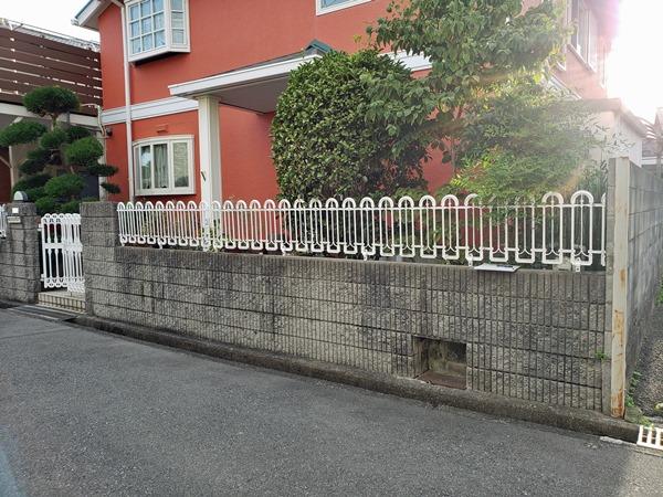 おしゃれな門まわりにリフォーム- 大阪府豊中市M様邸の施工前