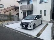 モノトーンでまとめたシンプルな新築外構 - 大阪府吹田市K様邸の詳細はこちら