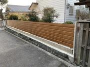 ブロック塀を明るい木調フェンスへ- 大阪府豊能郡U様邸の詳細はこちら