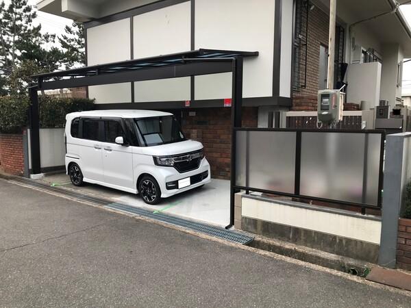 駐車スペースの拡張- 大阪府吹田市K様邸