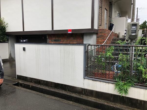 駐車スペースの拡張- 大阪府吹田市K様邸の施工前
