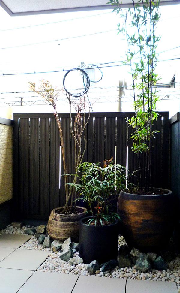 バルコニーから眺める和空間 – 大阪府豊中市 H様邸