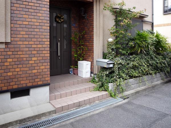 こだわりの門構え – 大阪府豊中市 H様邸の施工前