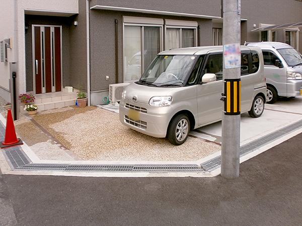 セミクローズのお庭へリフォーム – 大阪府豊中市 I様邸の施工前
