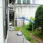 施工前:雑草が生い茂って手が付けられない状態でした