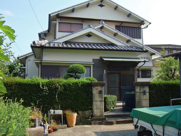 風格のある門構え – 大阪府豊中市 M様邸の施工前