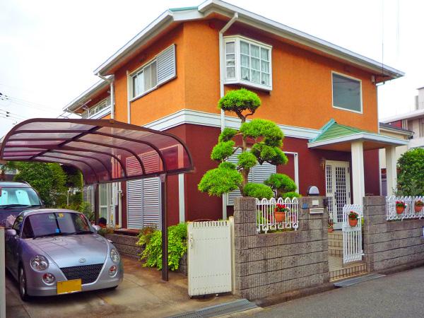 駐車スペースを有効利用 – 大阪府豊中市 M様邸の施工前