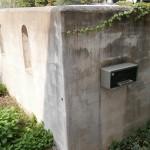 施工前:リフォーム前の壁は汚れが目立っていました。