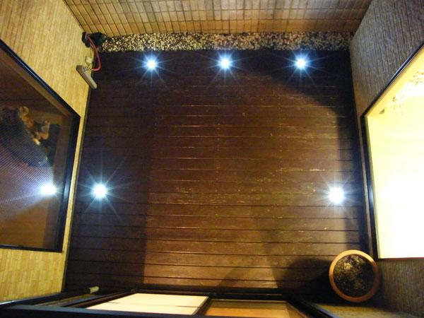 LEDライトでエコに演出 – 大阪府豊中市 S様邸