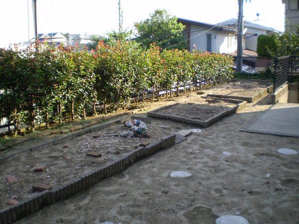 使い勝手のよいガーデンリビング – 大阪府豊中市 Z様邸の施工前