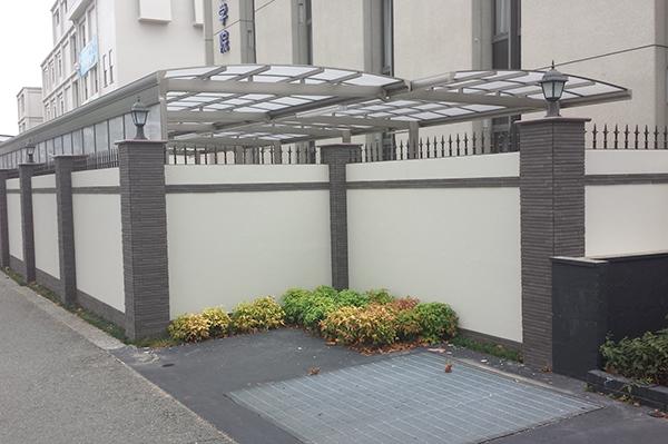 施工後:駐輪所としてスペースの有効利用