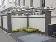 【校内施設工事:駐輪場外観】伝統を感じさせる格式高い外観・明るく安全な構内へ – 兵庫県尼崎市 百合学院中・高等学校の詳細はこちら
