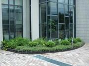 施工後:マリア様は移動して緑溢れる植栽スペースに